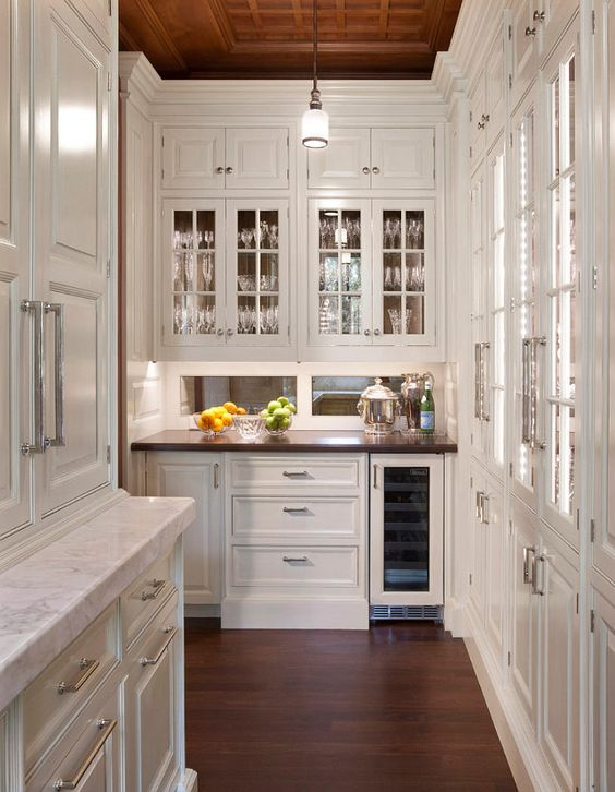 The Most Beautiful Pantries & Butler's Pantries Full Of