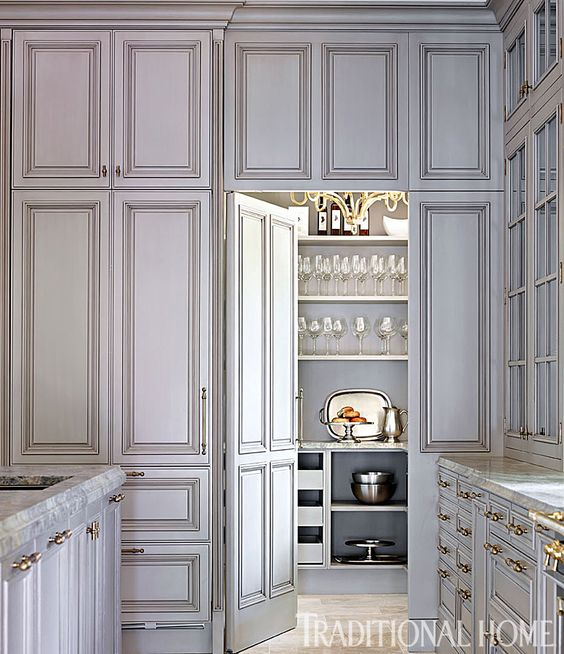 The Most Beautiful Pantries Amp Butlers Pantries Full Of Great Ideas