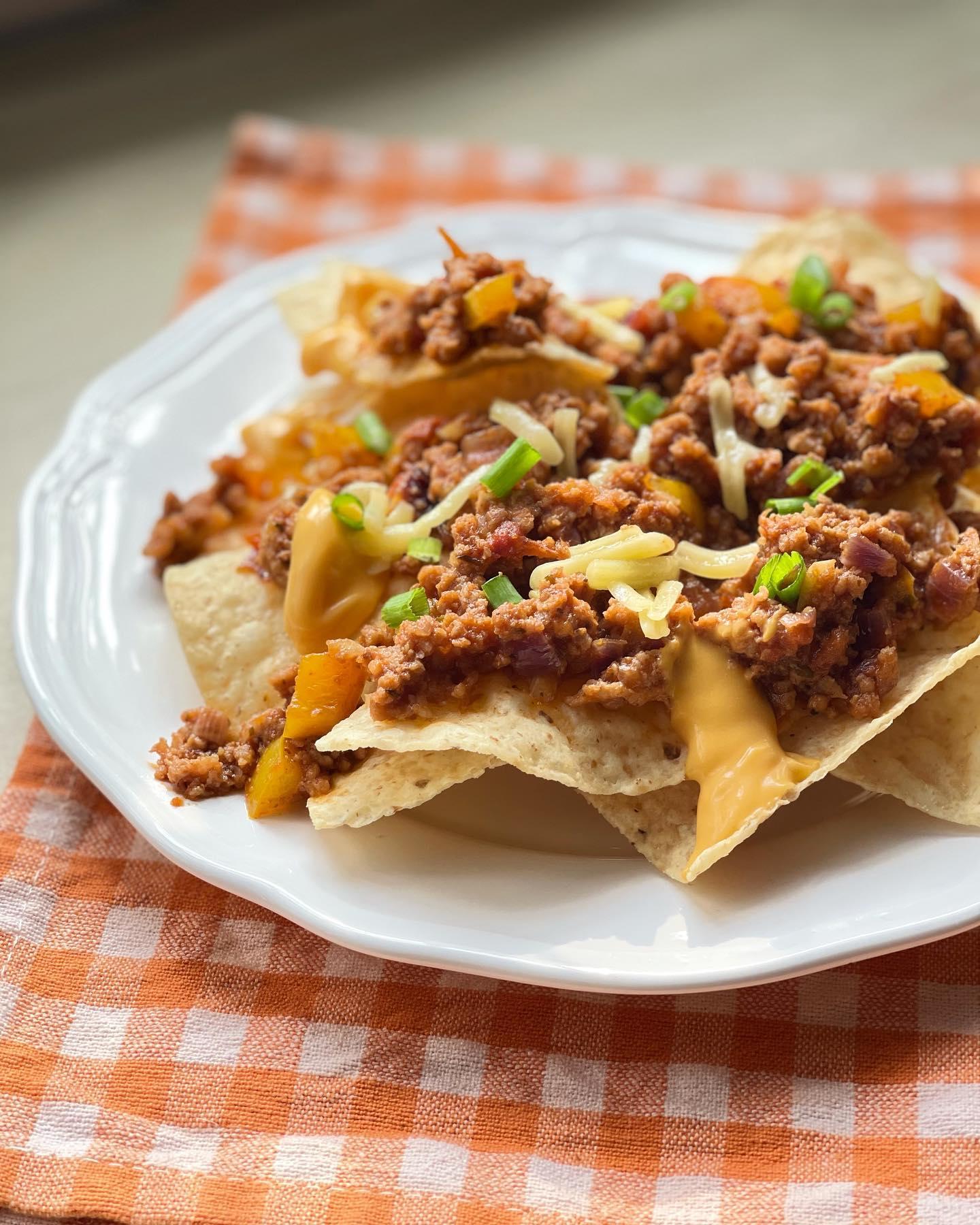 Mexican Food - Beef Nachos - House of Hazelknots