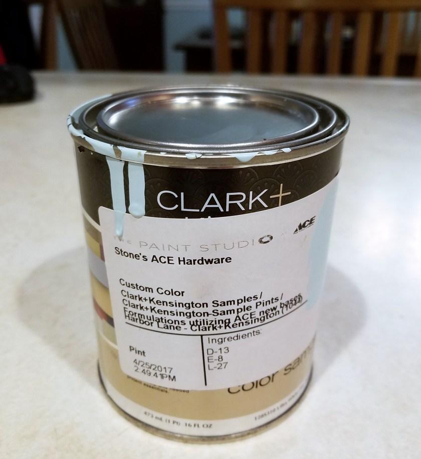 Harbor Lane Paint sample from Clark + Kensington