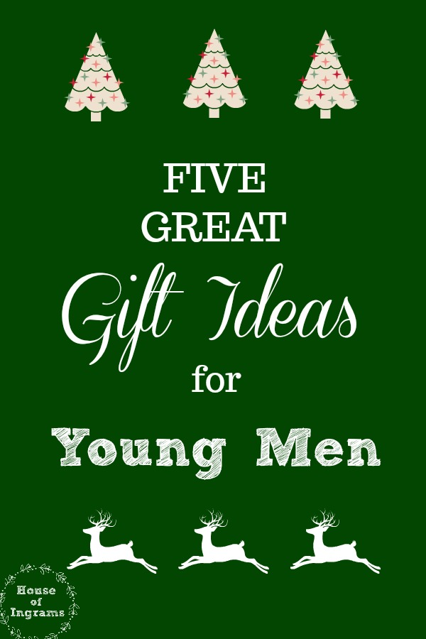 Five Gift Ideas for Young Men  sc 1 st  House of Ingrams & Four Great Gift Ideas for Young Men u2013 House of Ingrams
