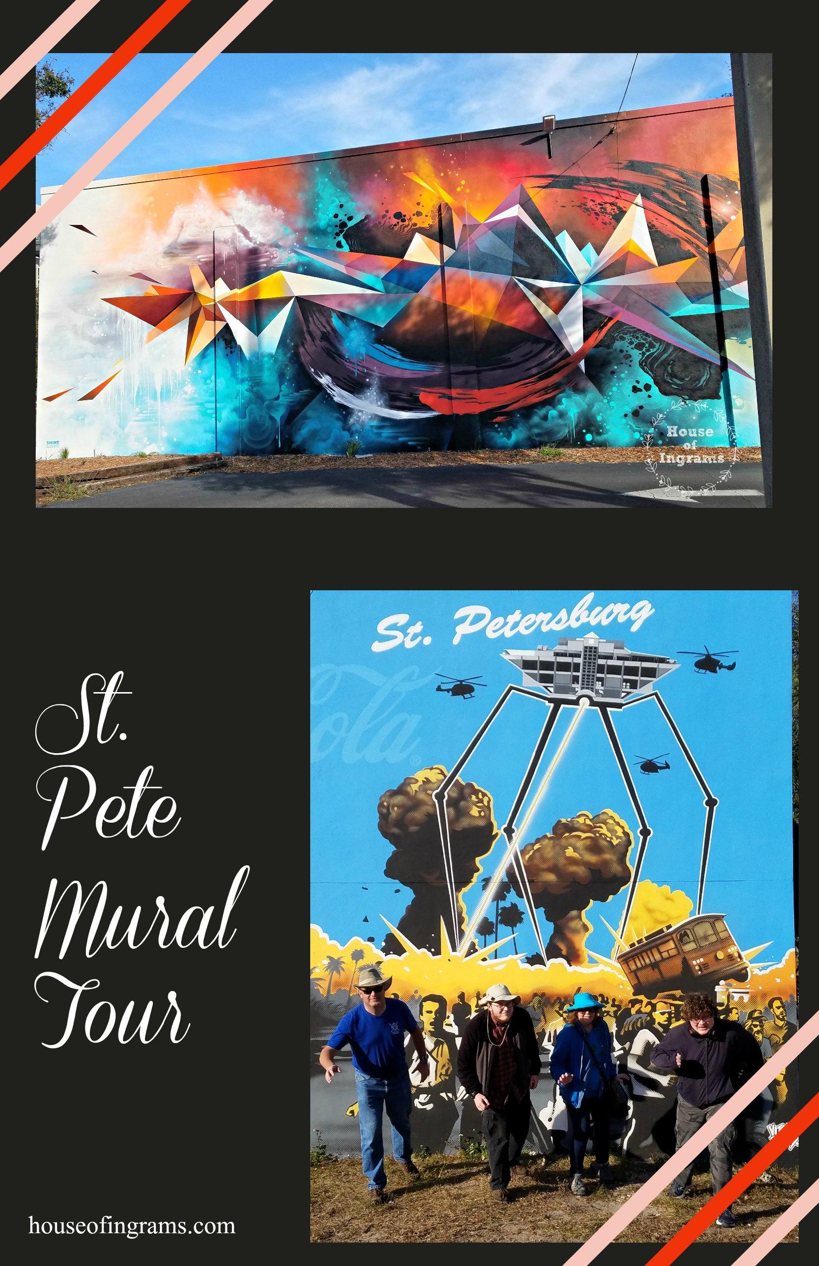 St. Petersburg Mural Tour