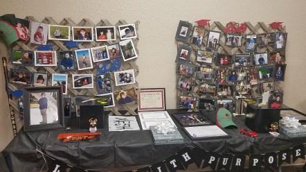 Graduation Table Displays