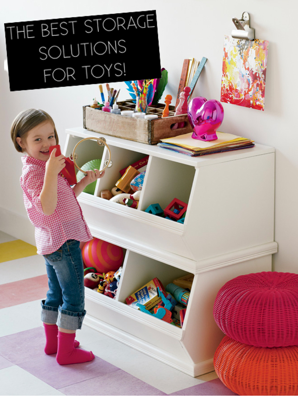 What Are The Best Storage Solutions For Toys House Of Jade Interiors