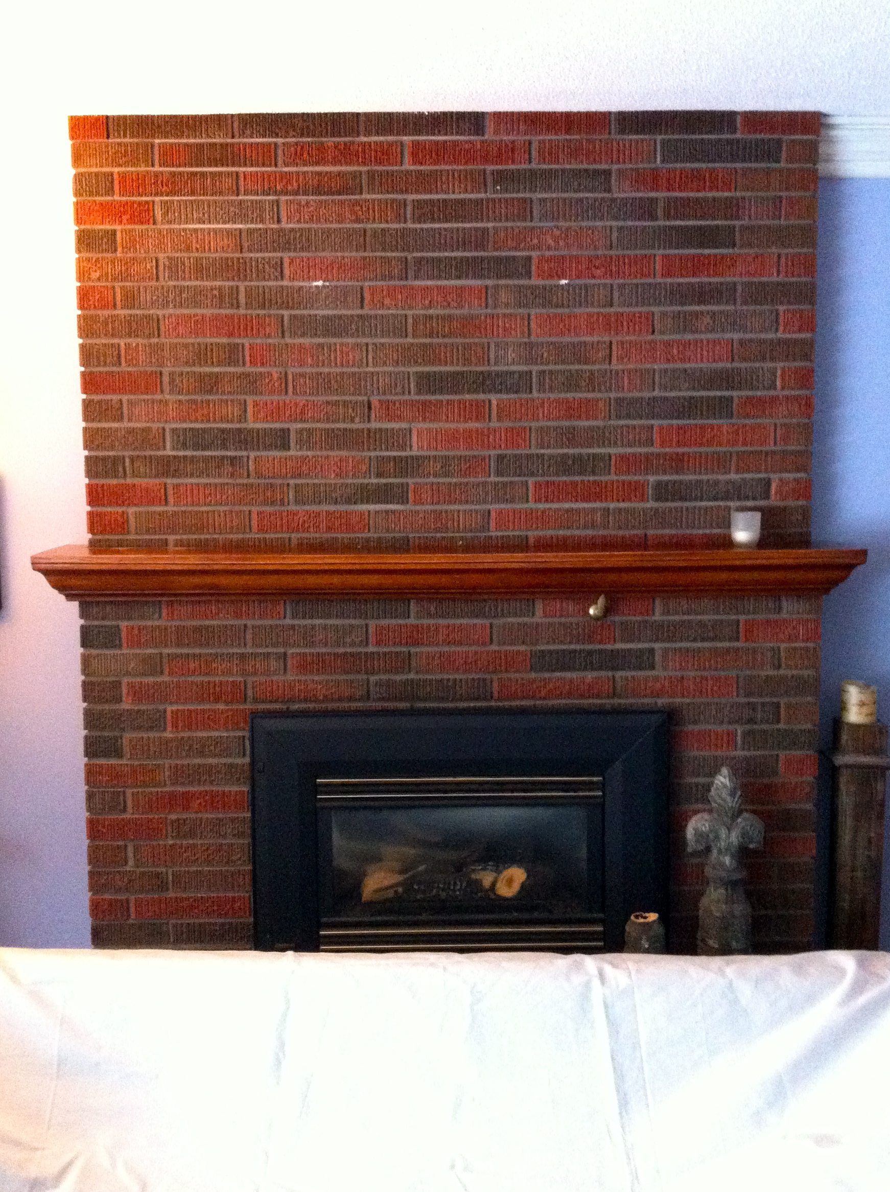 White Painted Fireplace Brick Painting A Brick Fireplace (how To Paint Brick White)