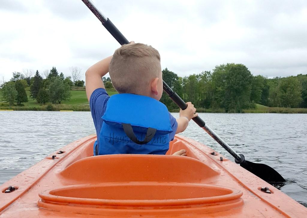 deerhurst resort water sports kayaking