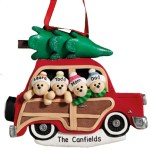 custom christmas vacation family ornament
