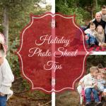 Holiday photo shoot tips