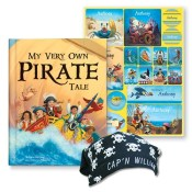 my very own pirate tale and personalized bandana