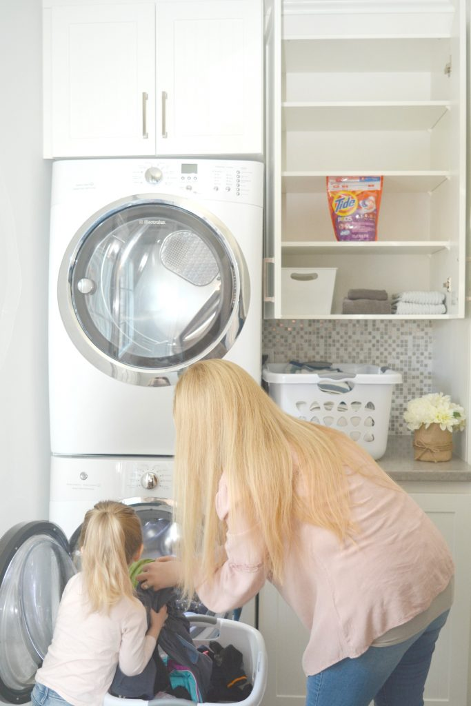 modern home safety checklist laundry room