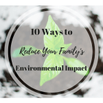 Earth Day 2017 10 Ways to Reduce Your Family's Environmental Impact Ecological Footprint