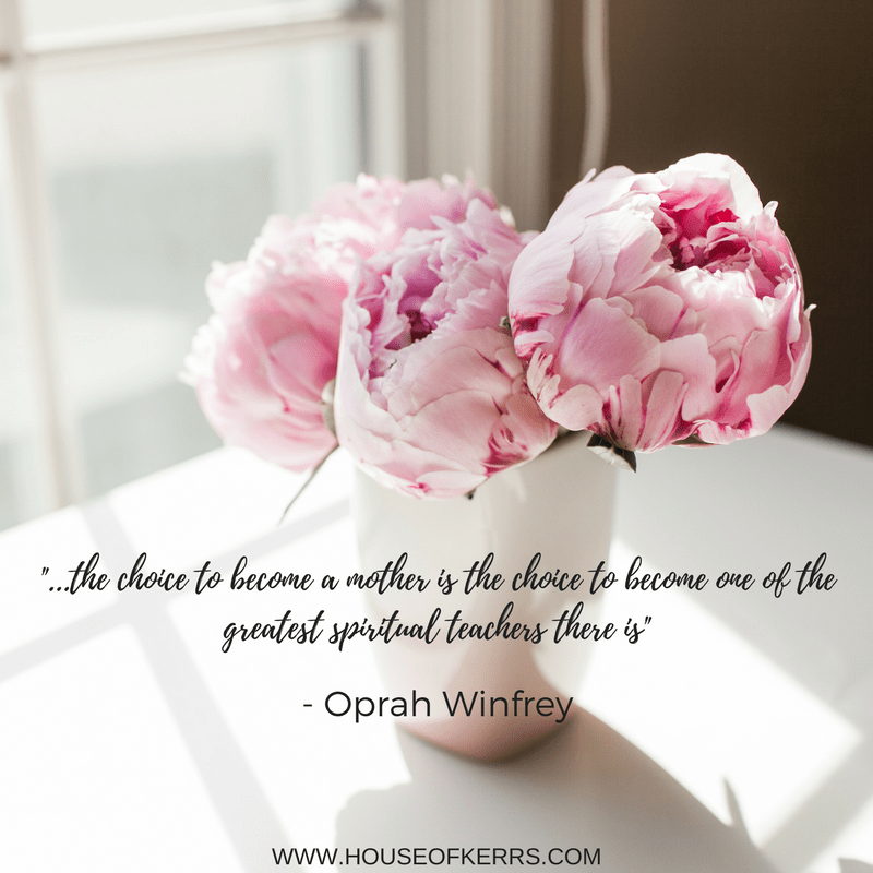 the choice to become a mother oprah winfrey quote