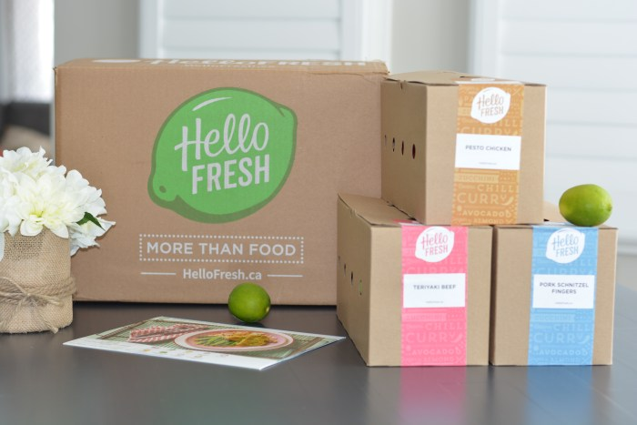 Hello Fresh Canada | Meal Delivery | HelloFresh Discount Code | Recipe delivery service | Meal planning service |