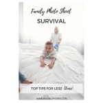 Family Photo Shoot Survival: Top Tips for Less Stress!