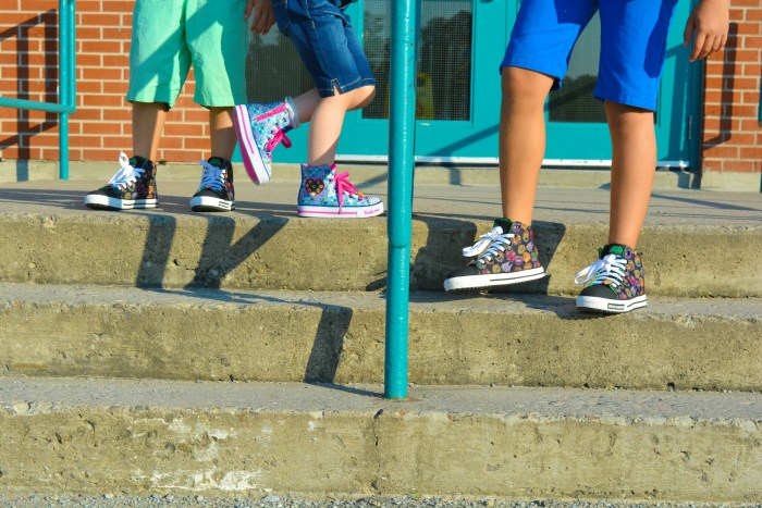 Back to school shoes 2017 | Cool Kicks for school | Skechers Canada | Emoticons designs