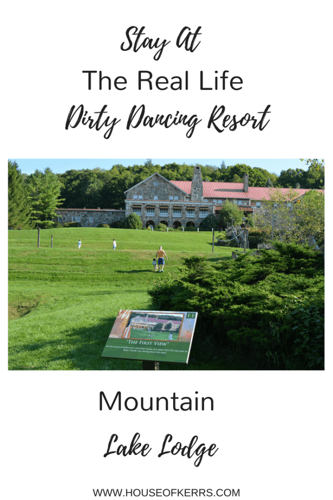 Stay At The Real Life Dirty Dancing Resort - Mountain Lake Lodge (Kellerman's Mountain House)