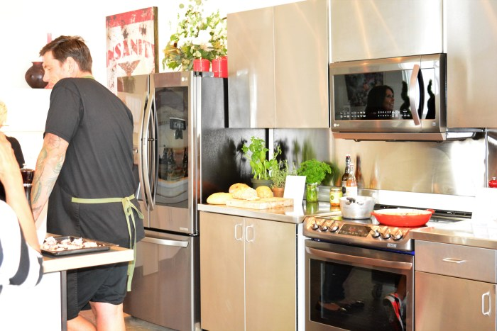 LG Canada Kitchen Event | Celebrity Chef Chuck Hughes