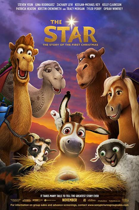 The Star Movie Poster All Rights Reserved - SONY Pictures Animation