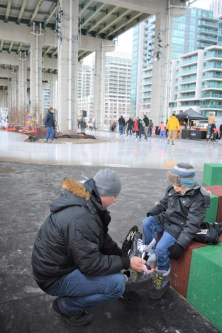 Save Your Skates | OTS.Rethink.Tires.Program.The Bentway Skate Trail Toronto