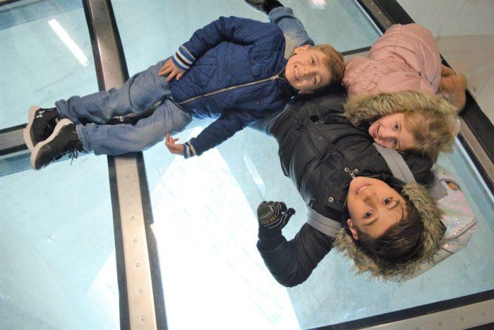 CN Tower Glass Bottom Floor