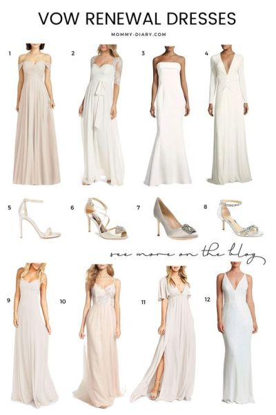 Vow Renewal Dress Inspiration