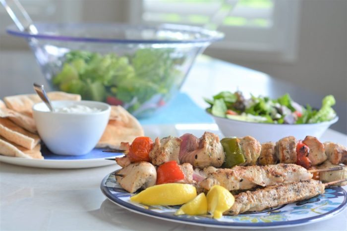 Greek Turkey Kebabs | Turkey Farmers of Ontario | House of Kerrs | Summer BBQ Ideas