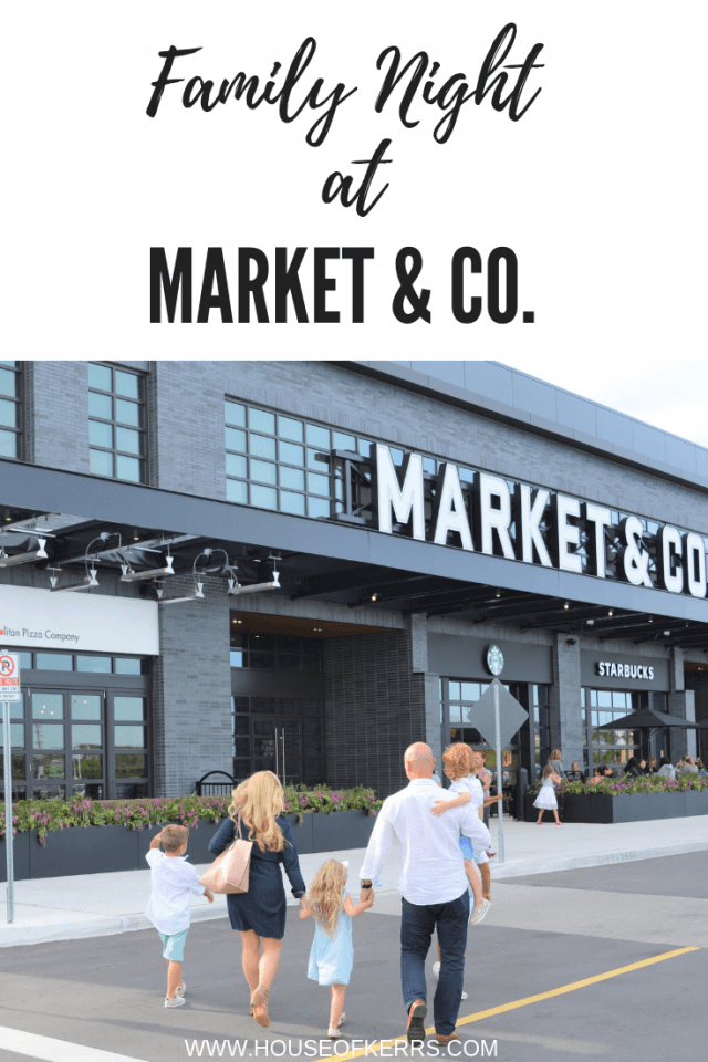 Family Night at Market & Co. Upper Canada Mall Newmarket, Ontario | Urban Market Canada | Best Family Restaurants Greater Toronto Area | Best Date Night Ideas GTA Toronto