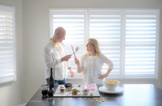 Couples' Cooking | Sun-dried Tomato Chicken Alfredo Farfalle Recipe. Valentine's Day Family dinner | Easy Pasta Recipes |