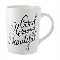 Good Morning Beautiful Mug.Indigo