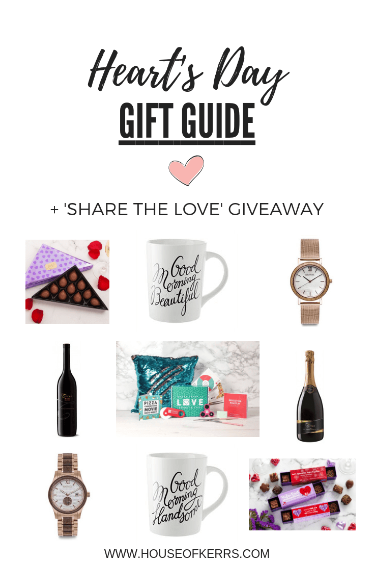 Heart's Day Gift Guide + Share the Love Giveaway | Unique Valentine's Day Gift Ideas for Couples Families | Celebrate Love at Home Ideas | Simple Meaningful Date Night Ideas
