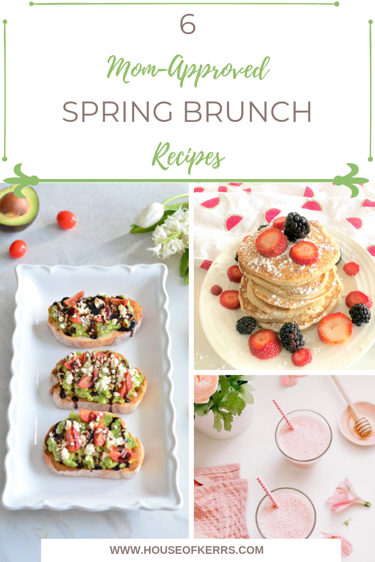 Spring Brunch Recipes | Mother's Day Brunch Ideas | Gluten-Free Recipes | Lactose-Free Recipes | Avocado Toast | Strawberry Smoothies | Sheet Pan Recipes | Breakfast Pizza | Easy Recipes for Families