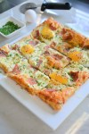 Puff Pastry Breakfast Pizza | Spring Brunch Recipes | Mom Approved Brunch Ideas