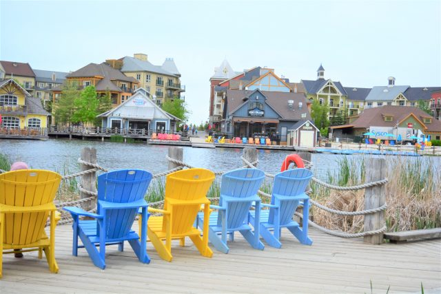 Instagrammable spots at Blue Mountain | Muskoka Chairs| All-Season Resorts Canada