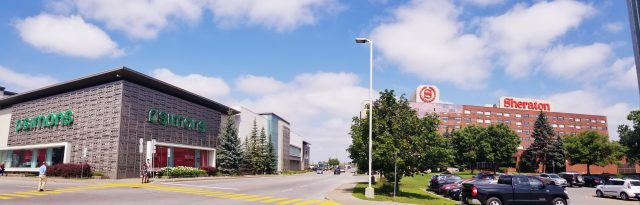 Sheraton Laval Hotel.steps from shopping and dining Carrefour Mall Simons