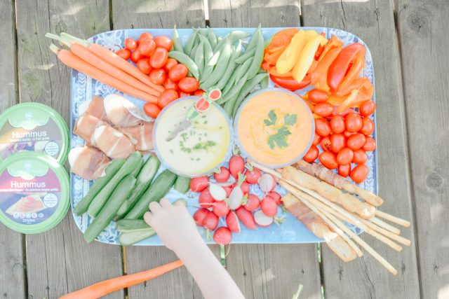 no cook meals simple summer snacks | cottage hacks | Summer Fresh dips and hummus