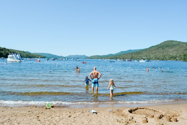 Beach and tennis club tremblant