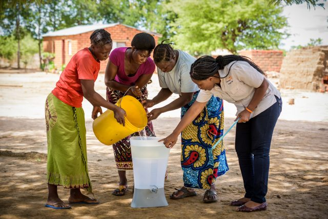 Photo © World Vision Canada Fill A Well Water Sanitation Give Guide