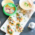 Holiday Entertaining Simplified with Summer Fresh Dips + Hummus | Holiday Appetizer Ideas | Christmas Menu