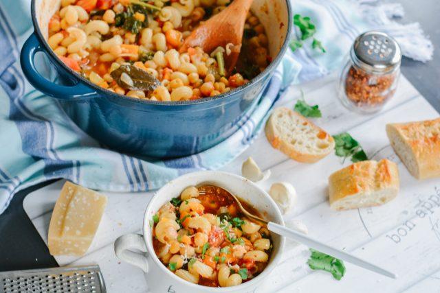 classic Italian Pasta e Fagioli recipe   one-pot meals   Italian recipes   30 minute meals