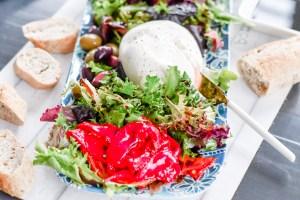 Date night dinner idea Burrata Appetizer Shared food board La Cucina di Kerrs