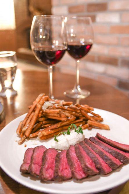 Steak and Frites Valentine's Day Menu Northumberland Heights