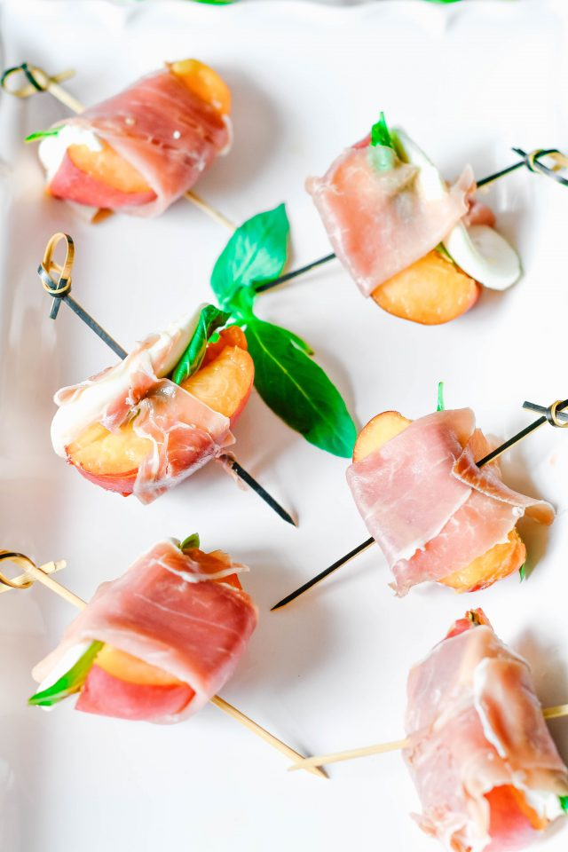 Peach Appetizer Bites