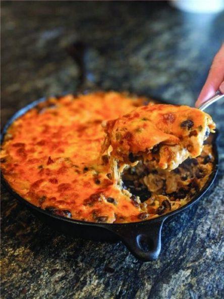 Chipotle Turkey Skillet recipe