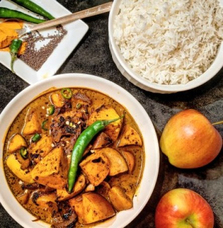apple curry sri lankan recipe