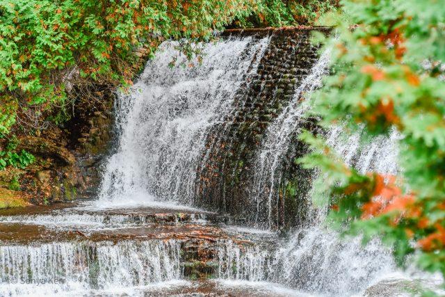 Belfountain Conservation Area Waterfall Caledon, Ontario