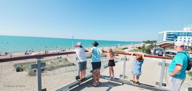 Lambton Shores Ontario Family Getaway | Grand Bend Beach Viewing Tower