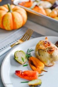 Autumn Harvest Chicken Bake Sheet Pan Recipe