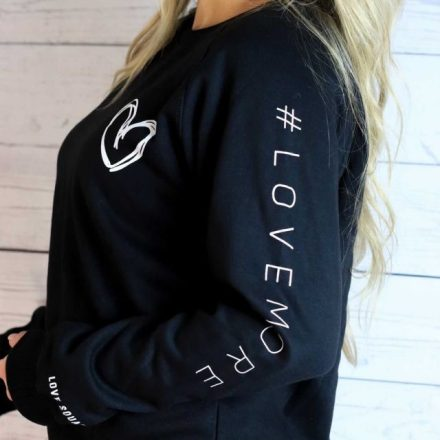 Love More Sweatshirt by Love Squared Kids Holiday GIVE Guide 2020