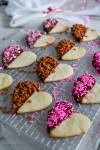 How to Make Chocolate-Dipped Heart Cookies | HouseofKerrs.com