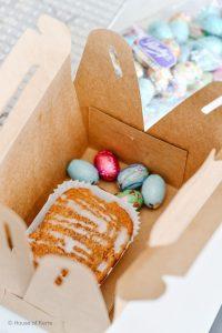 Edible Easter Gift Ideas | Mini Carrot Cake boxes